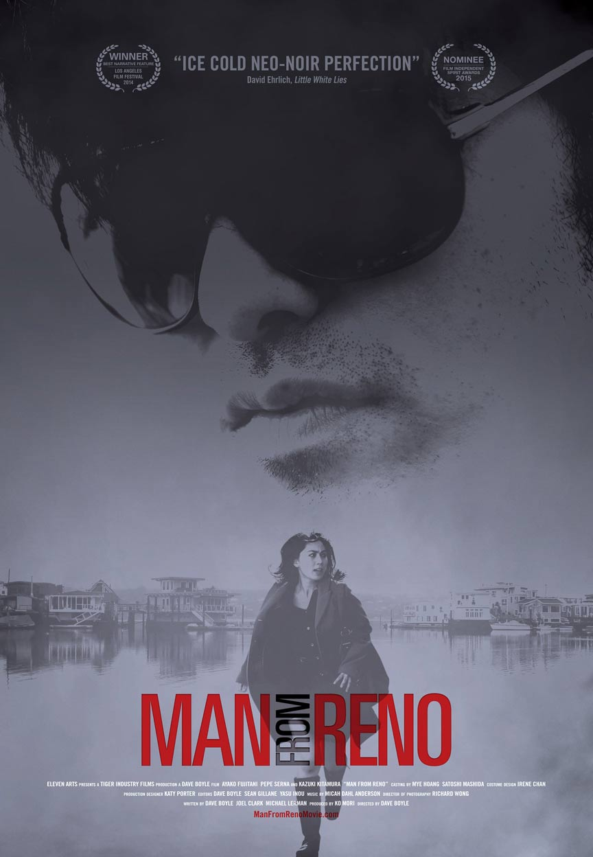 Man from Reno Poster #2
