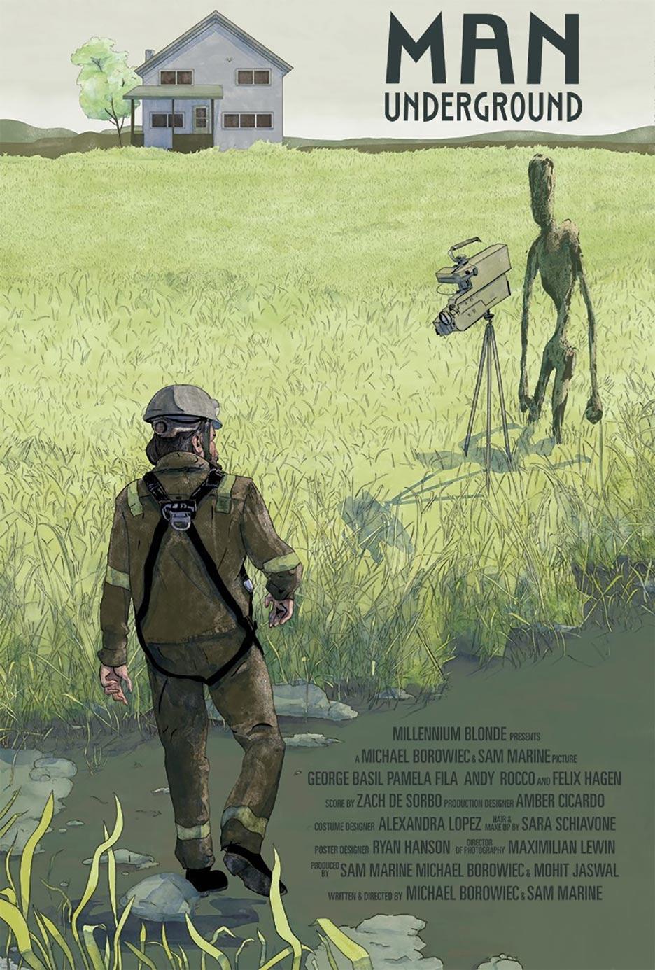 Man Underground Poster #1