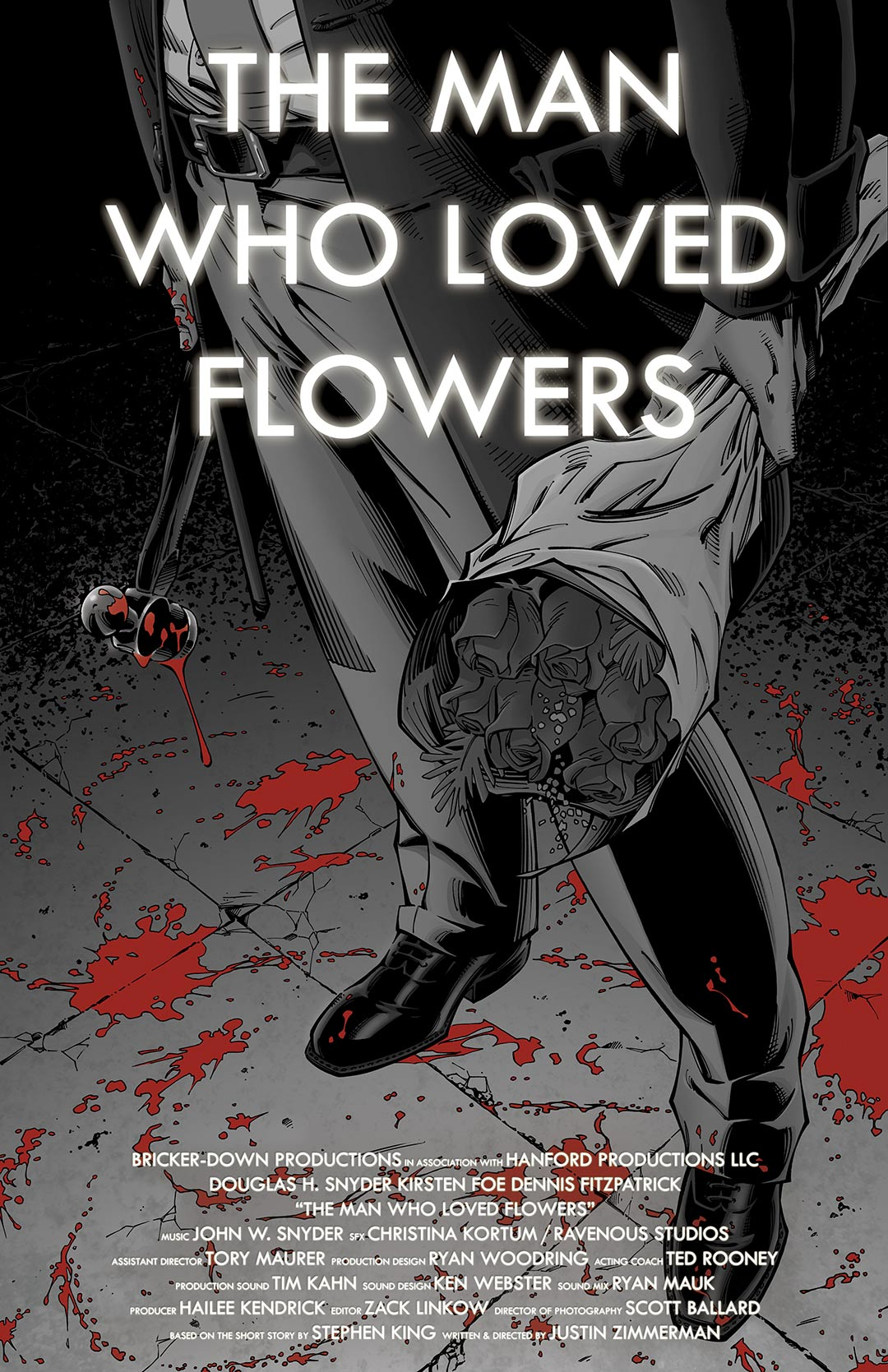 The Man Who Loved Flowers Poster #1