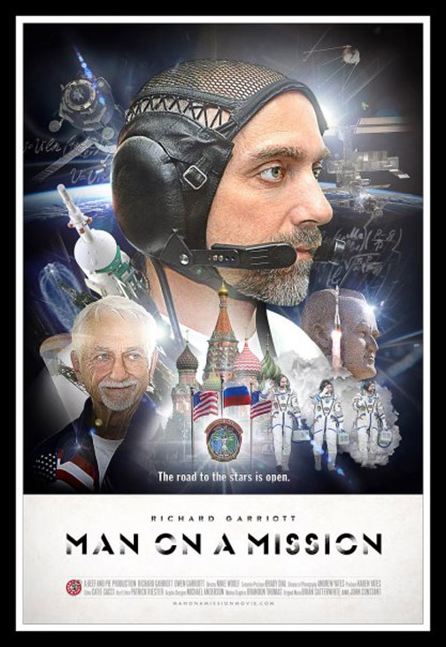 Richard Garriott: Man on a Mission Poster #1