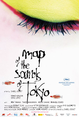 Map of the Sounds of Tokyo Poster #2