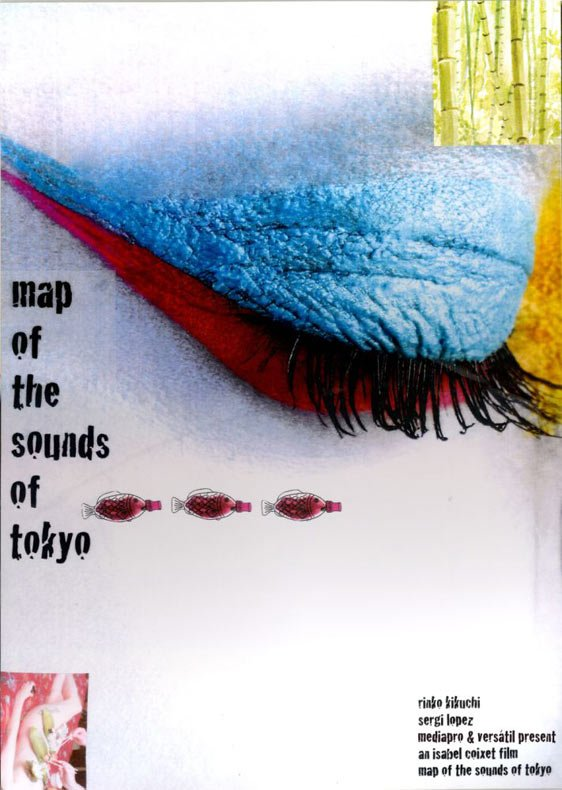 Map of the Sounds of Tokyo Poster #1