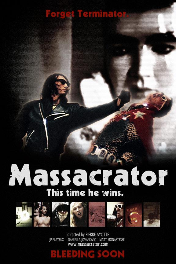 Massacrator Poster #1