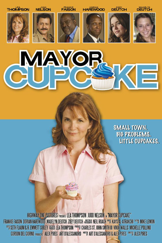 Mayor Cupcake Poster #1