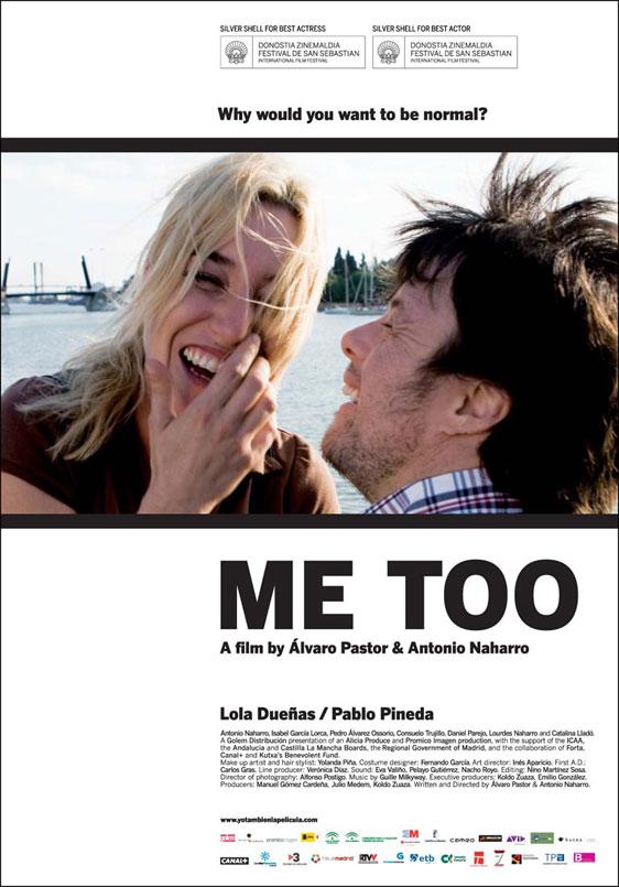 Me Too (Yo, también) Poster #1