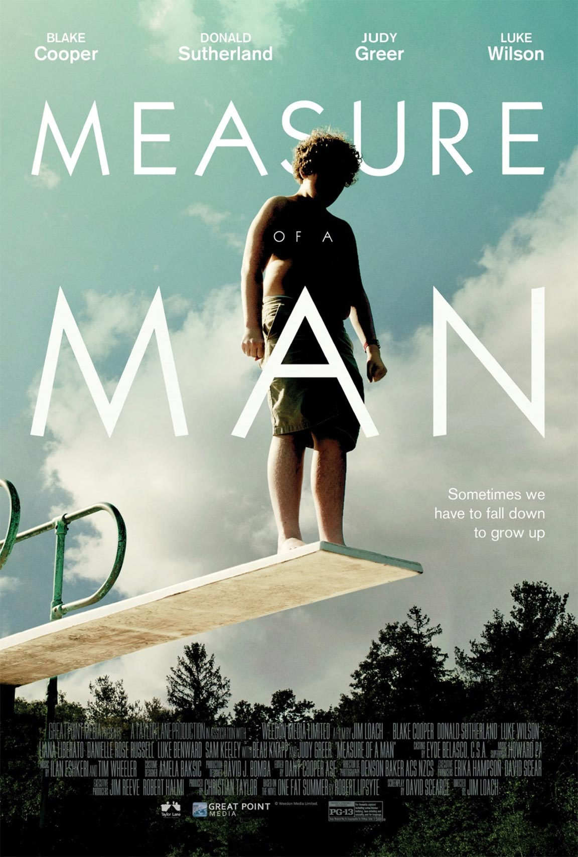 Measure of a Man Poster #1