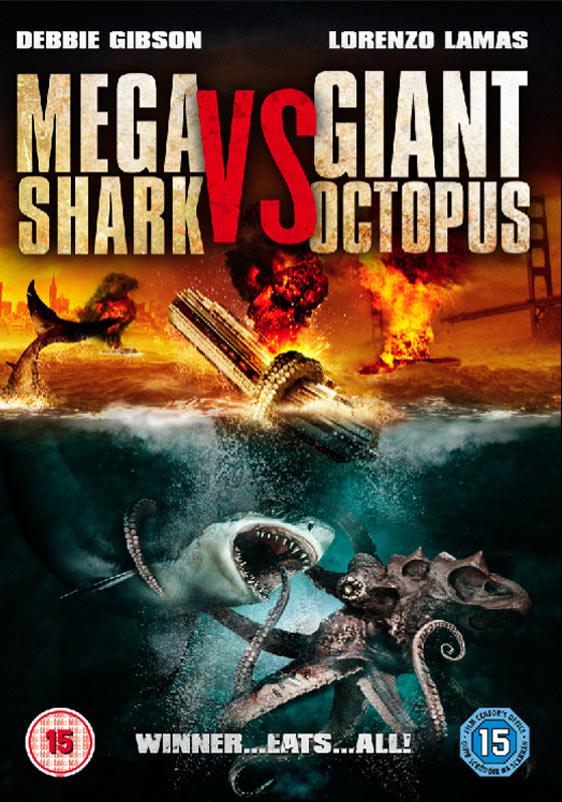 Mega Shark vs. Giant Octopus Poster #1