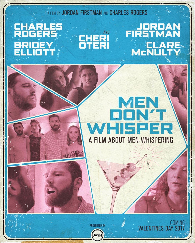 Men Don't Whisper Poster #1