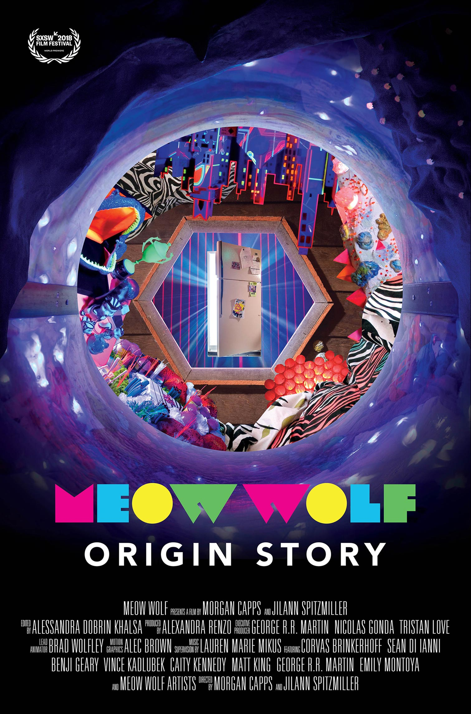 Meow Wolf: Origin Story Poster #1