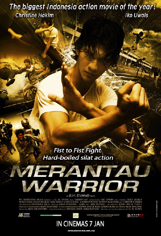 Merantau Warrior Poster #1