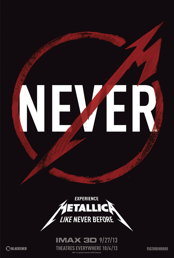 Metallica Through the Never Poster #1