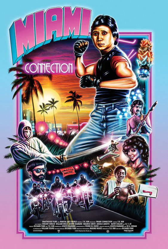Miami Connection Poster #2