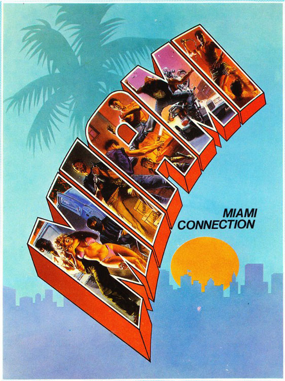 Miami Connection Poster #1