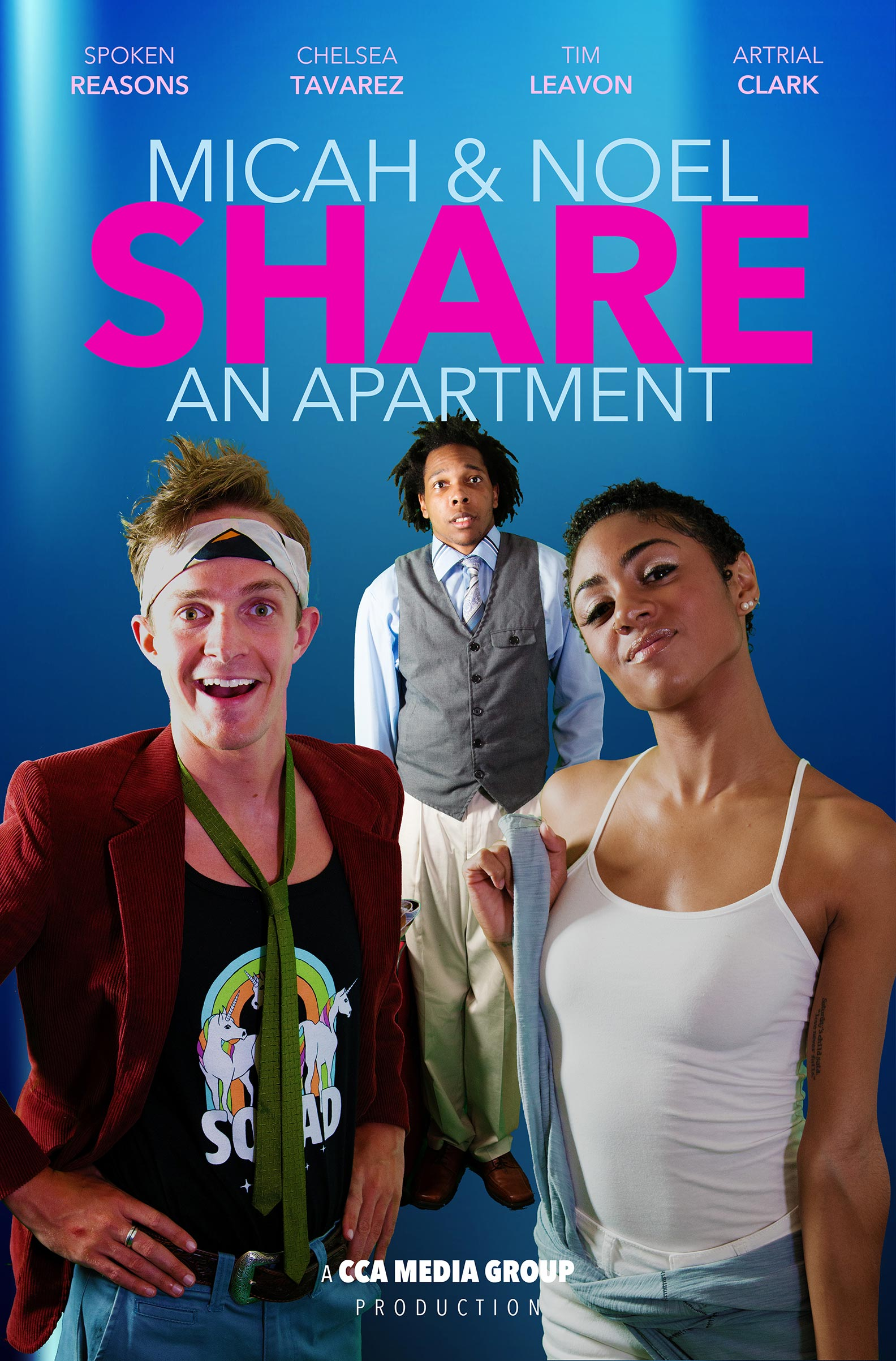 Micah and Noel Share an Apartment Poster #1