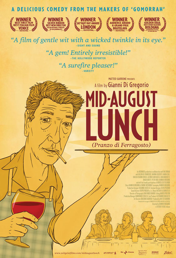 Mid August Lunch Poster #2