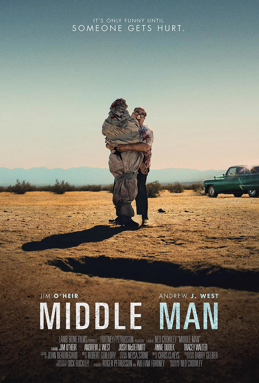 Middle Man Poster #1