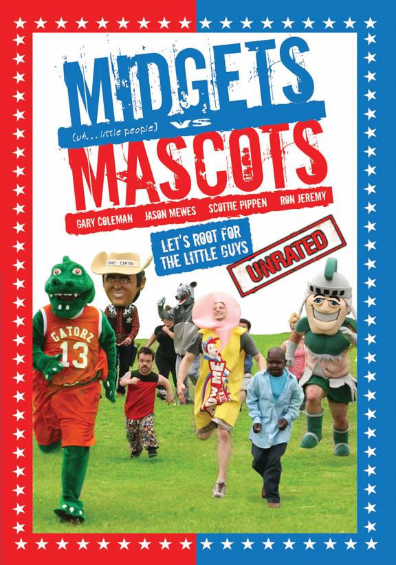 Midgets vs. Mascots Poster #1