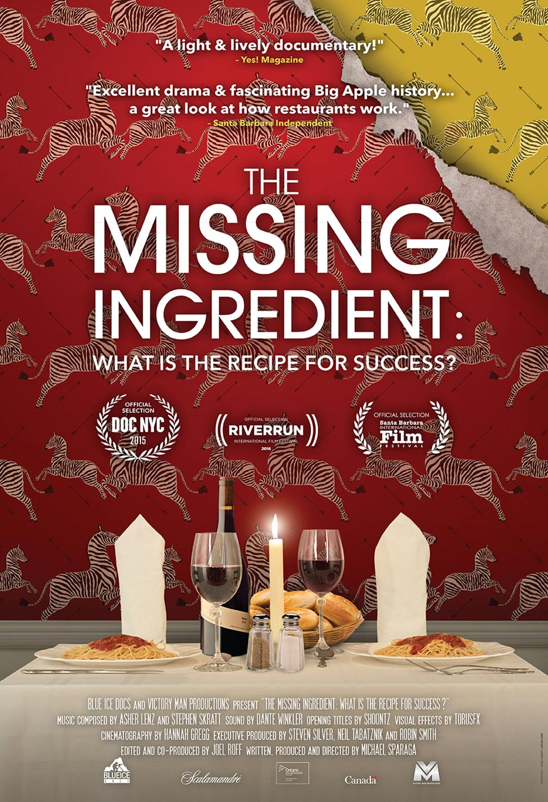The Missing Ingredient: What is the Recipe for Success? Poster #1