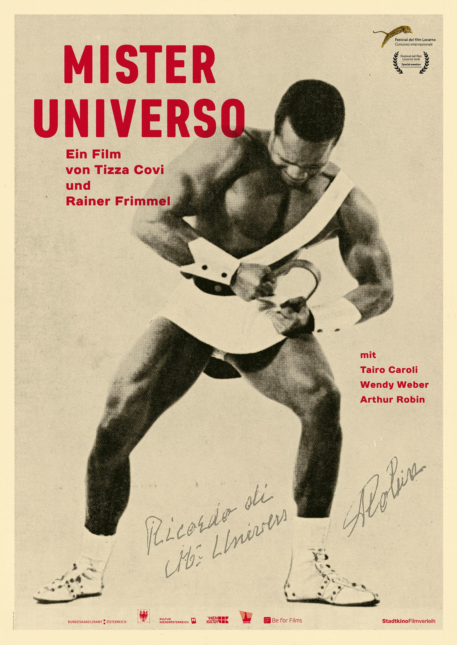 Mister Universo Poster #1
