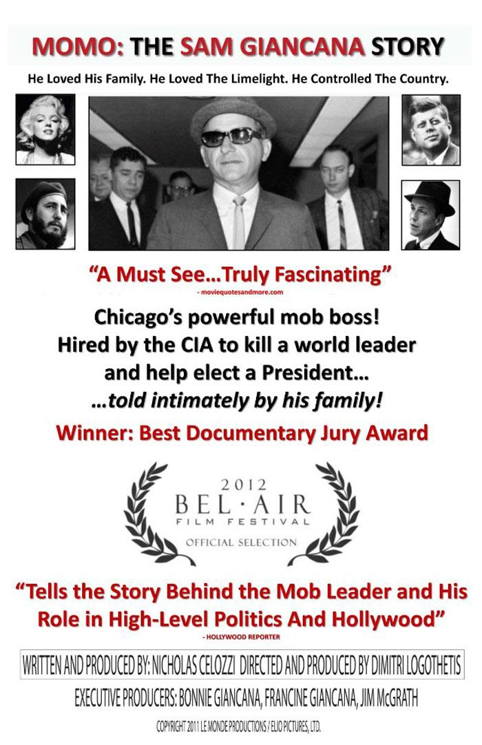 Momo: The Sam Giancana Story Poster #1