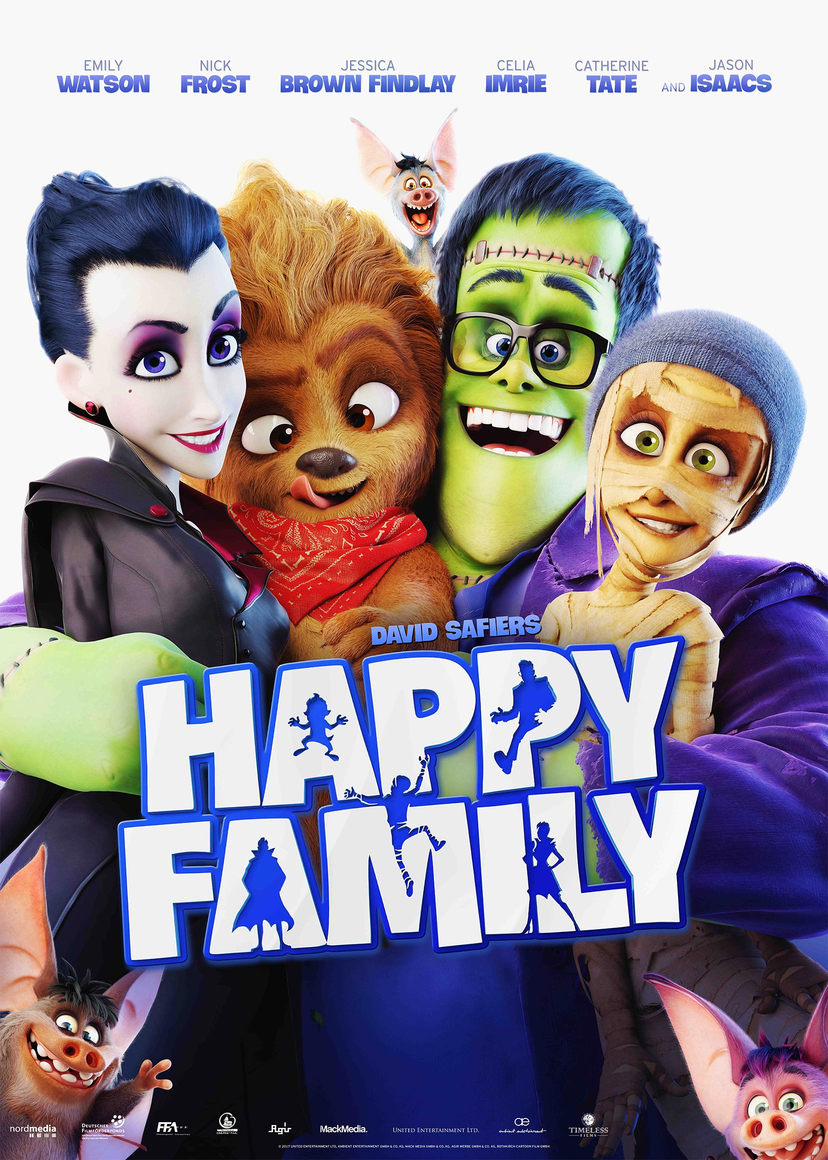 Monster Family Poster #1