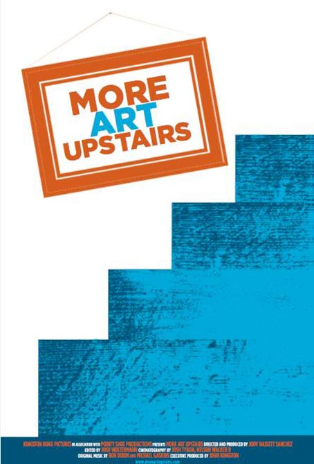 More Art Upstairs Poster #1
