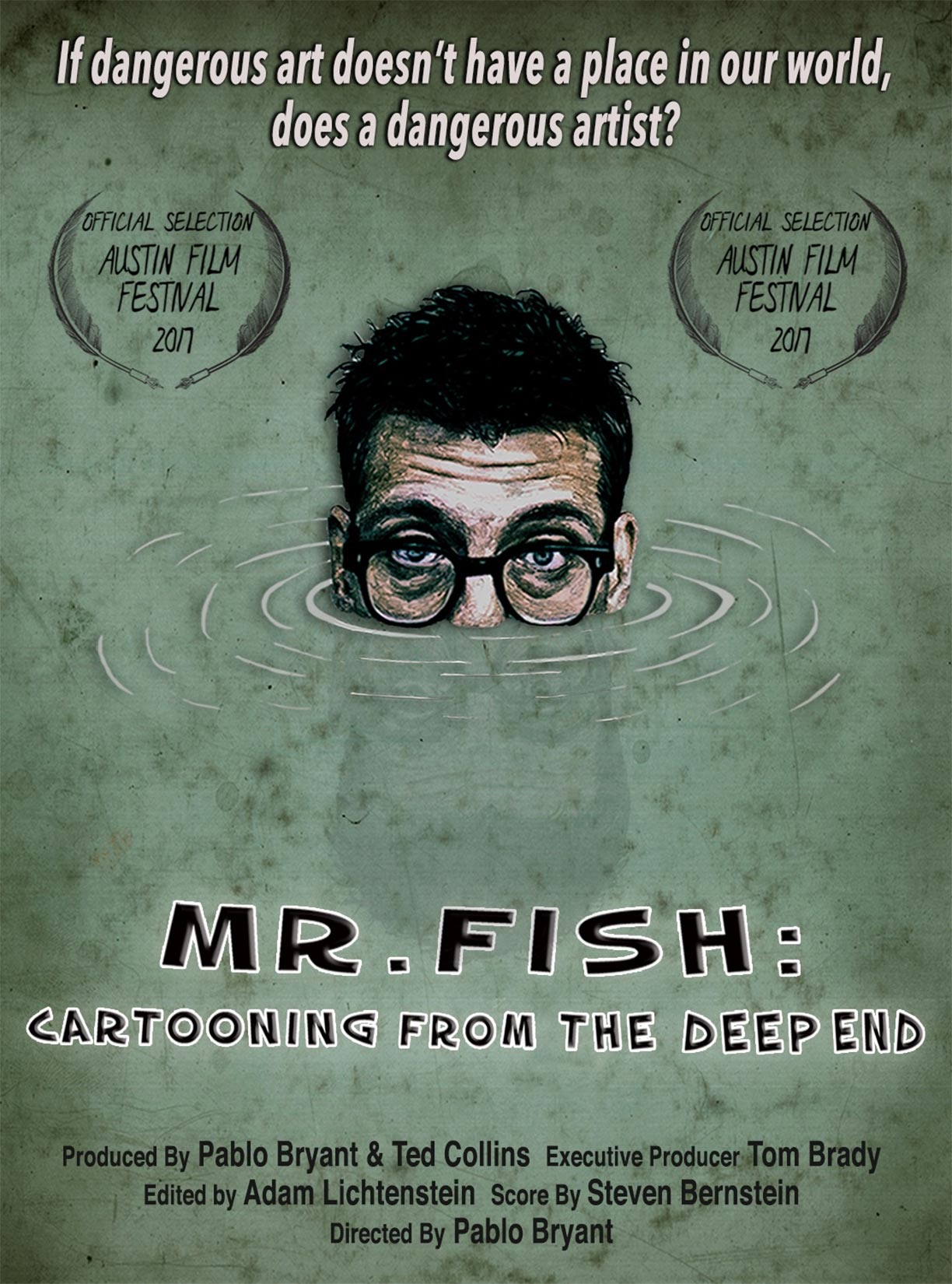 Mr. Fish: Cartooning from the Deep End Poster #1