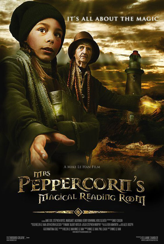 Mrs Peppercorn's Magical Reading Room Poster #1