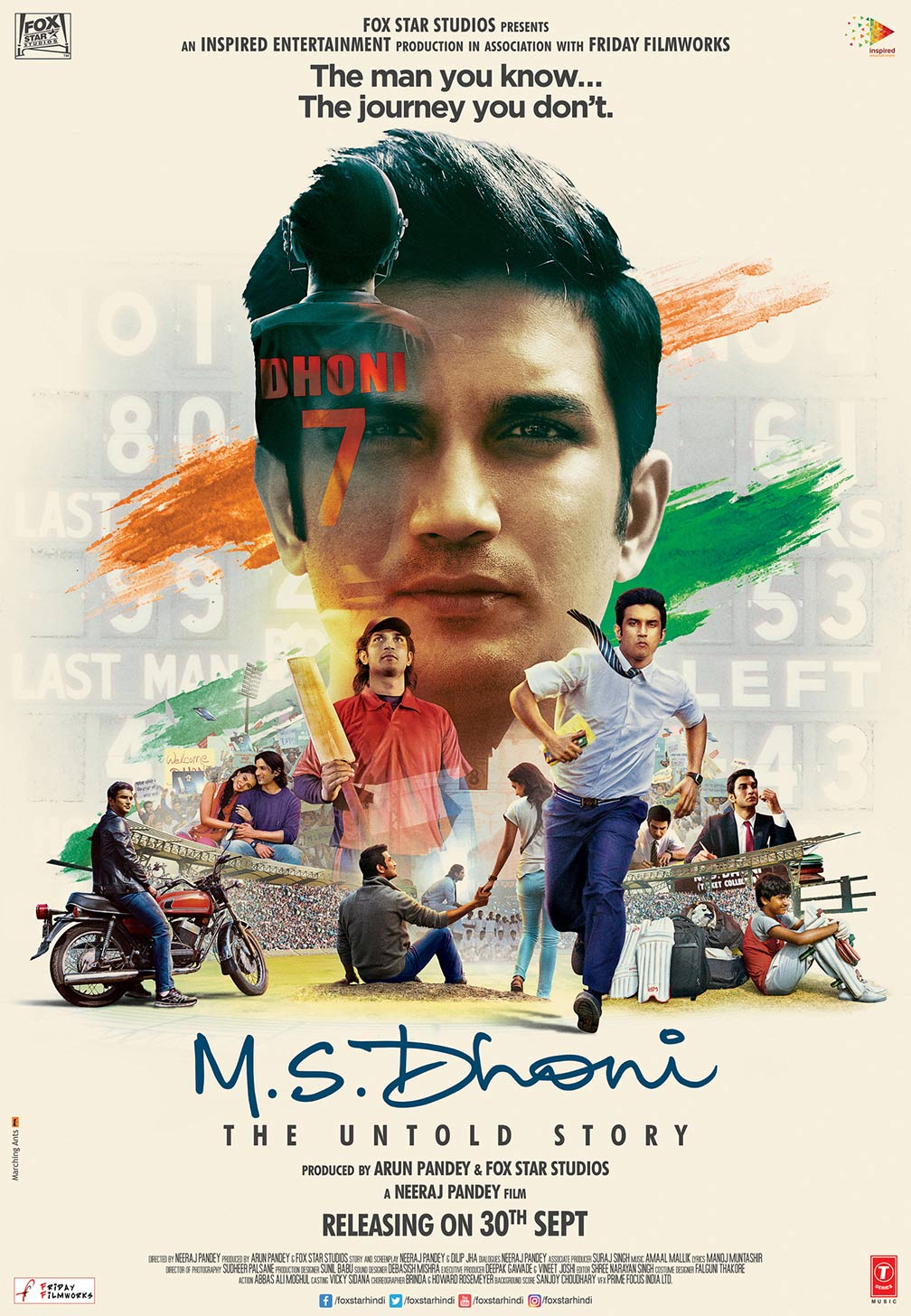 M.S. Dhoni: The Untold Story Poster #1