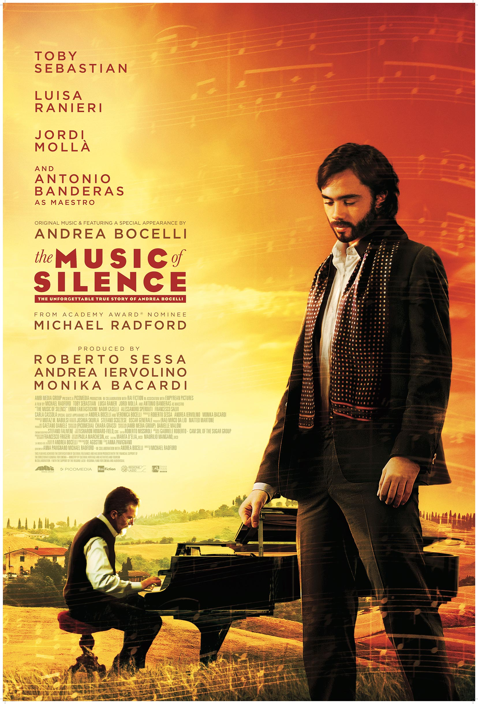 The Music of Silence Poster #1
