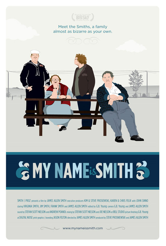My Name Is Smith Poster #1