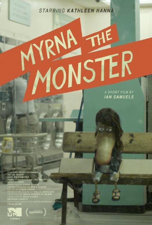 Myrna the Monster Poster #1