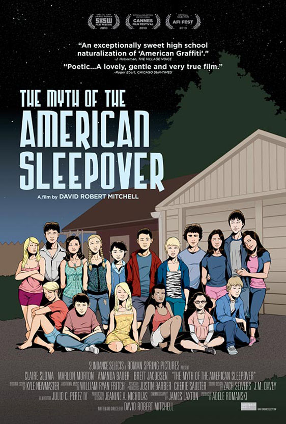 The Myth of the American Sleepover Poster #1