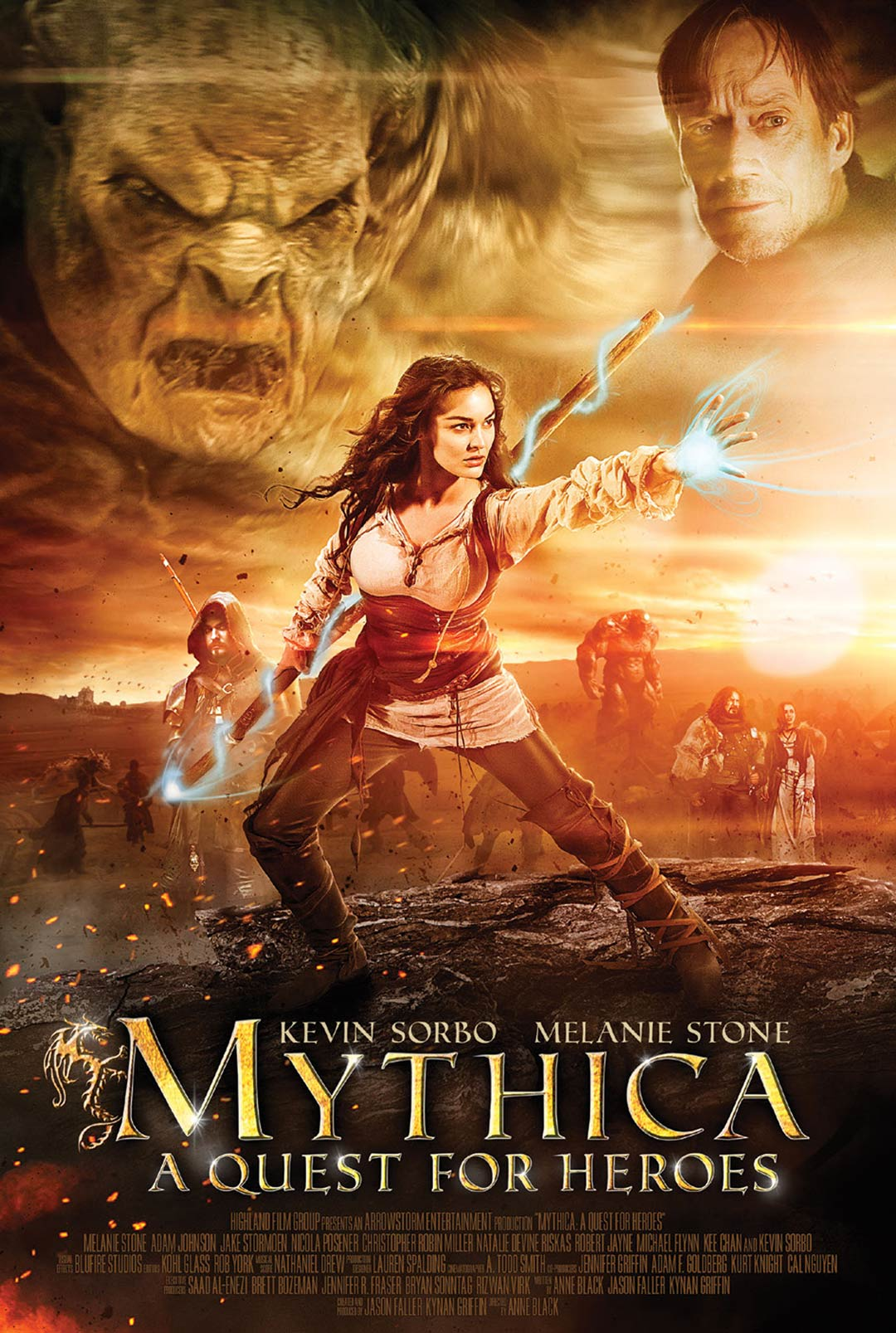 Mythica: A Quest for Heroes Poster #1