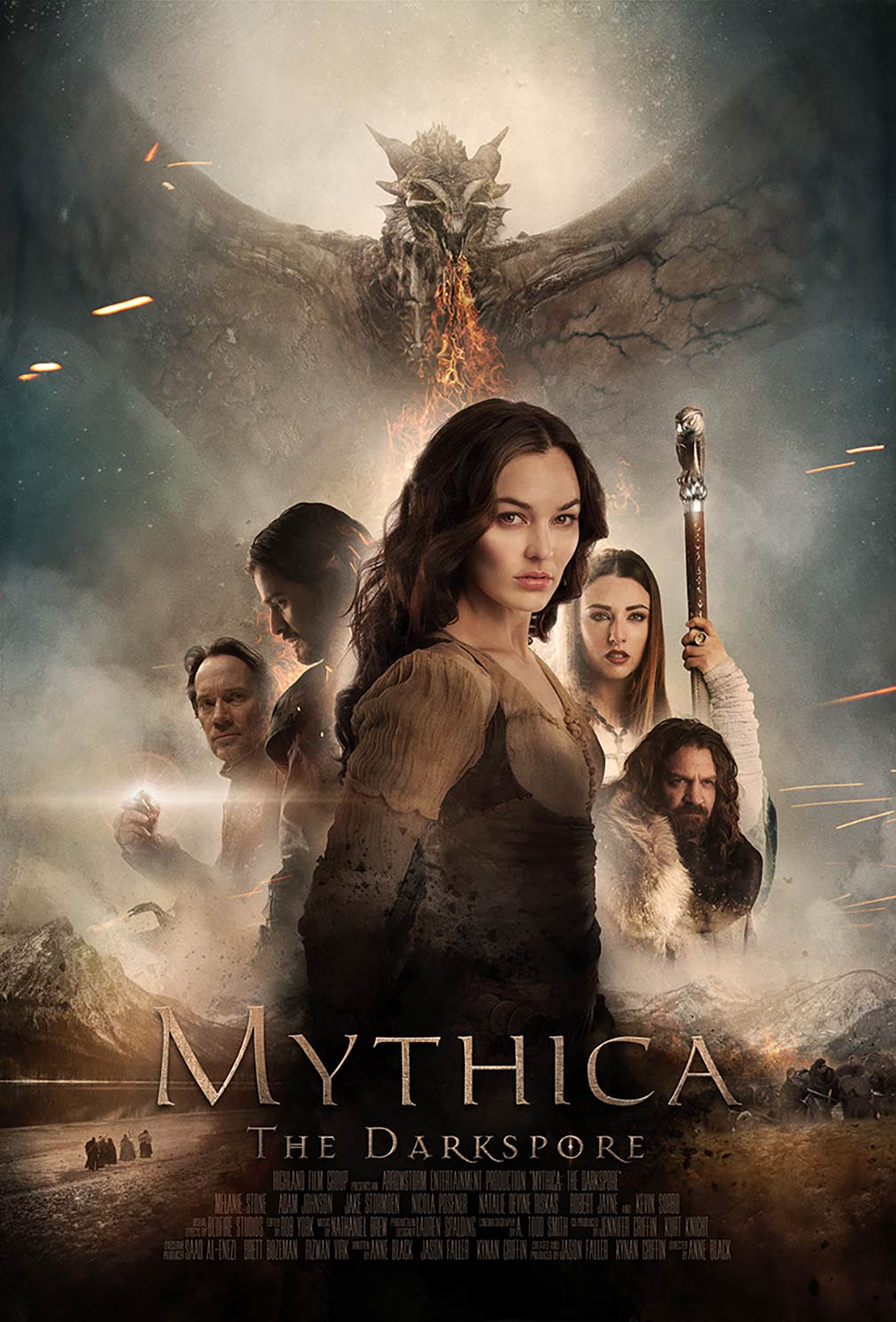 Mythica: The Darkspore Poster #1