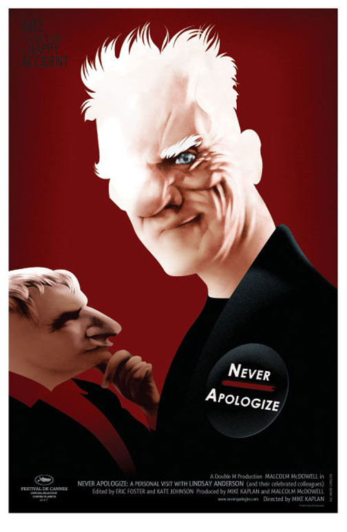 Never Apologize Poster #1