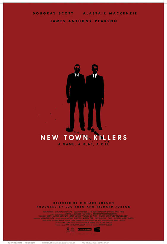 New Town Killers Poster #1