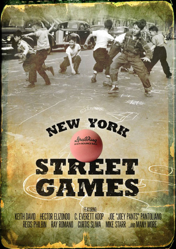 New York Street Games Poster #1