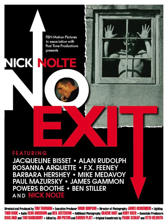Nick Nolte: No Exit Poster #1