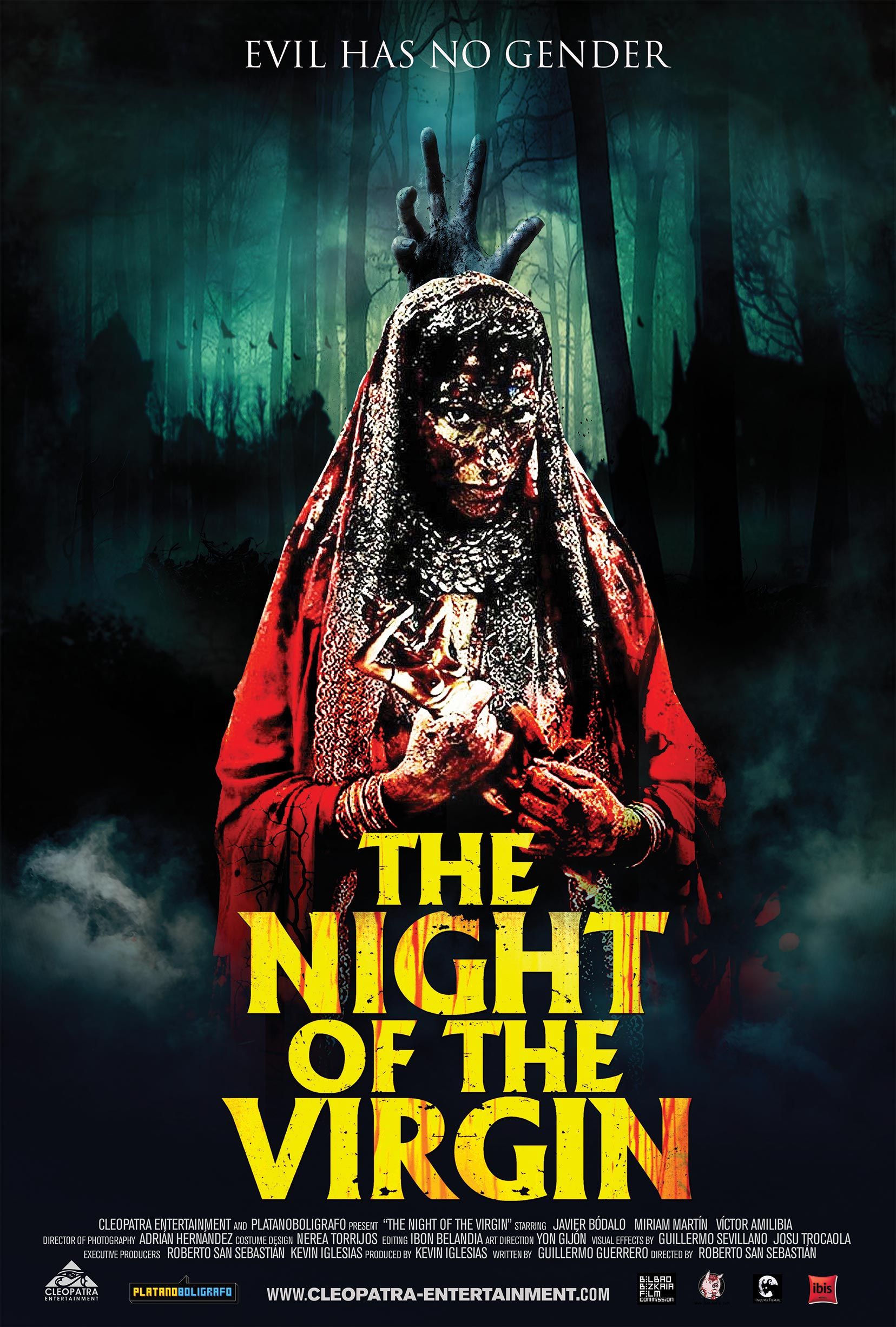 Night of the Virgin Poster #1