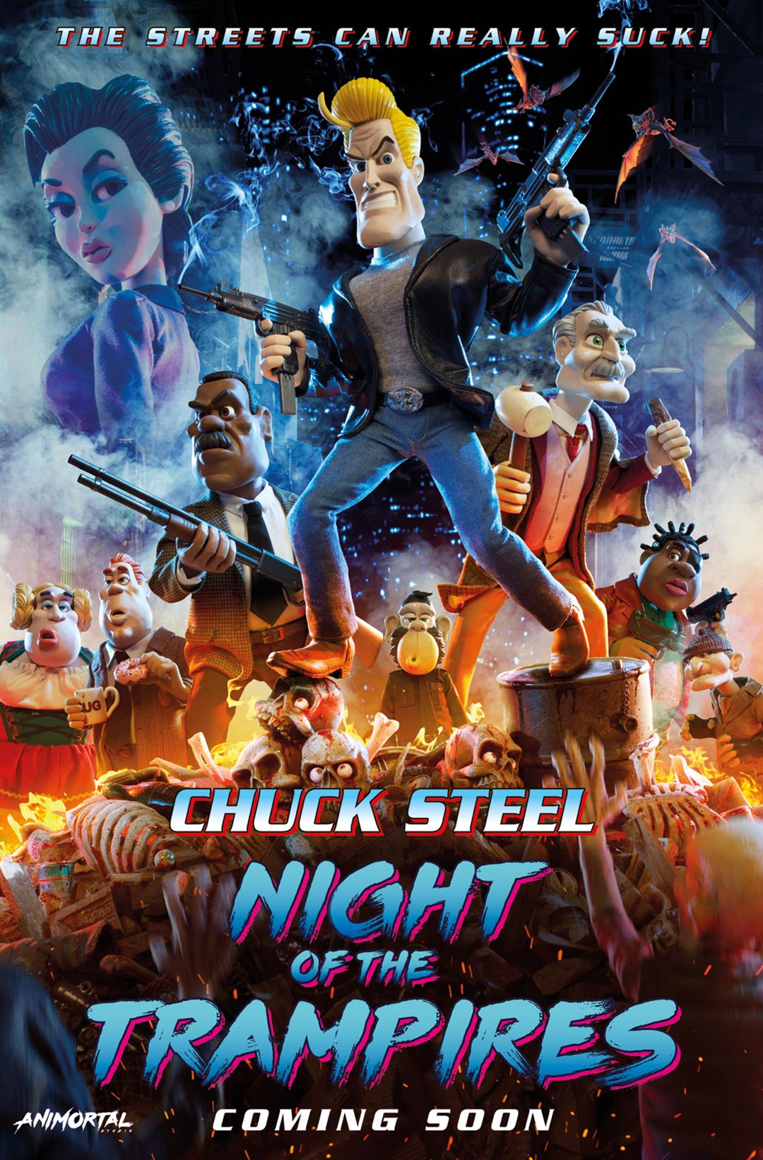 Chuck Steel: Night of the Trampires Poster #1