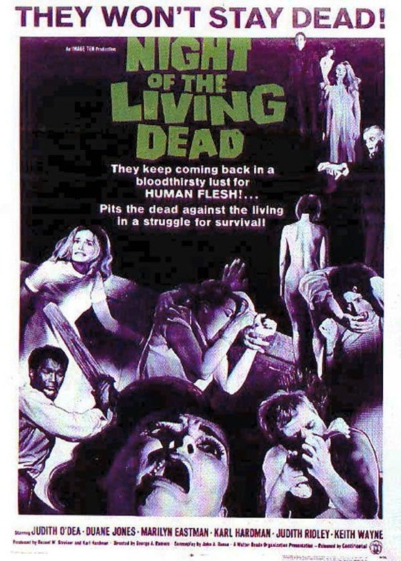 Night of the Living Dead Poster #1