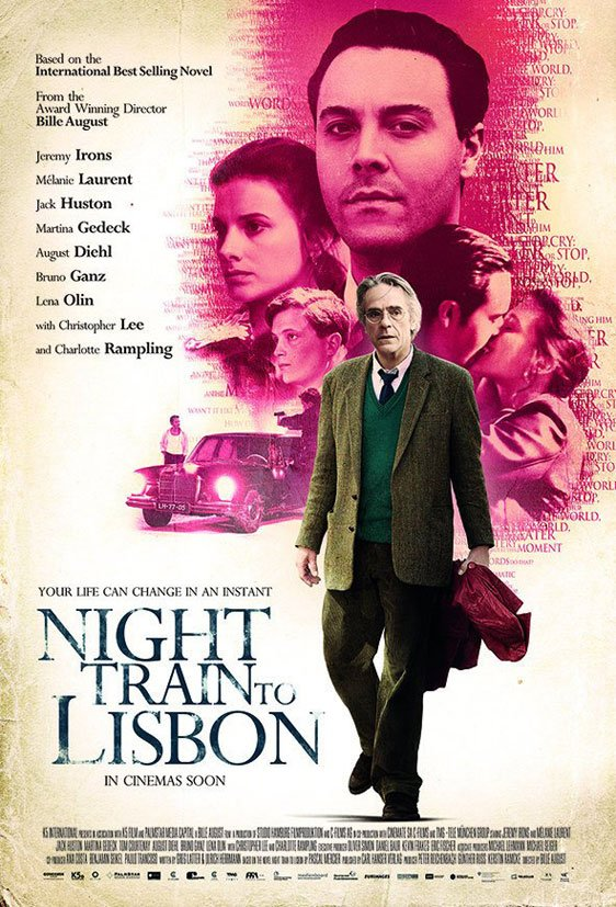 Night Train to Lisbon Poster #1