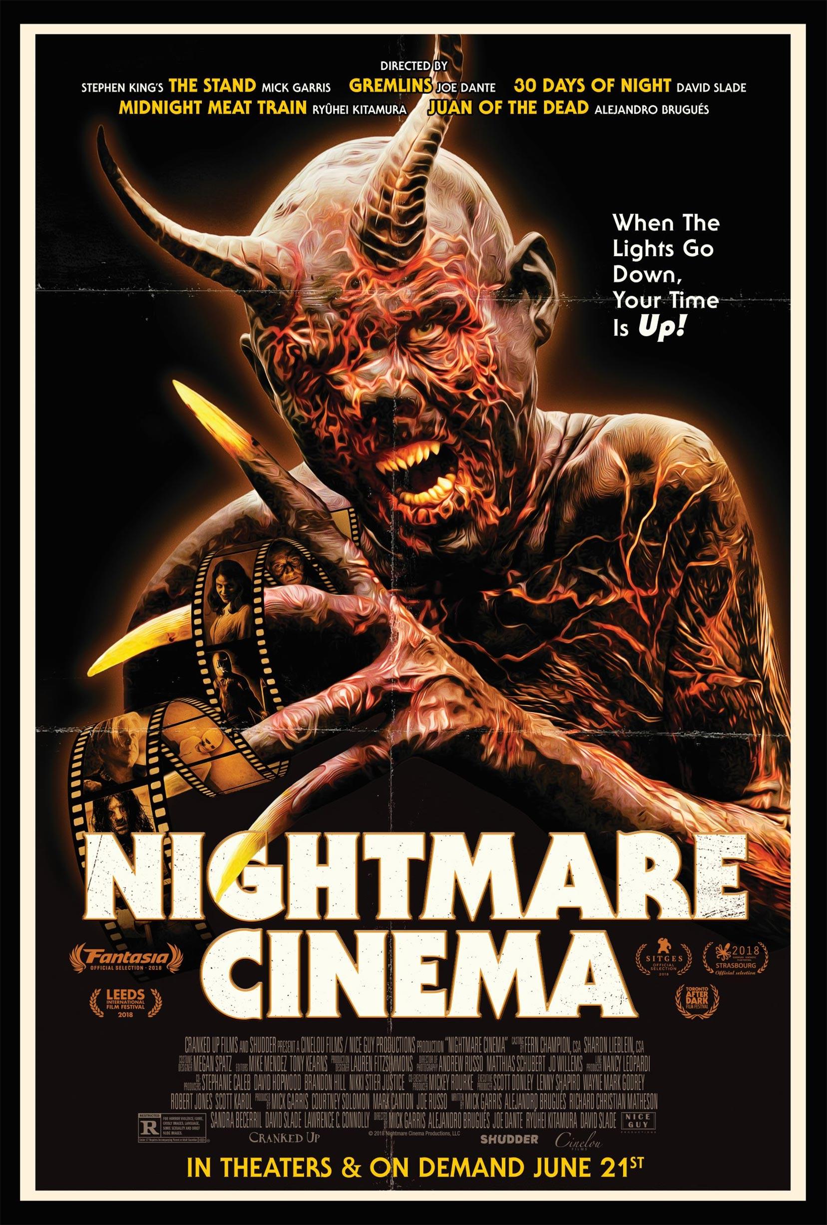 Nightmare Cinema Poster #1