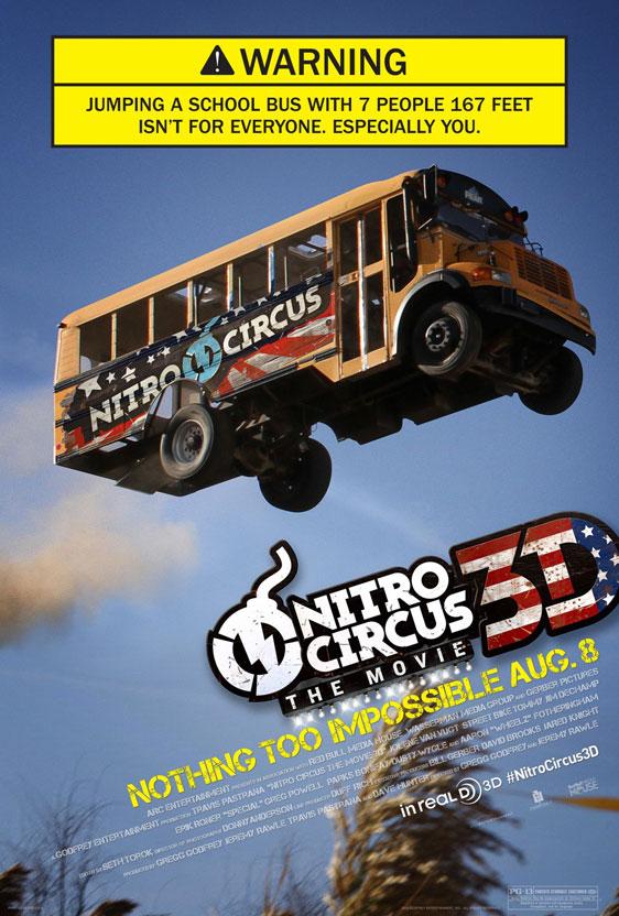 Nitro Circus: The Movie Poster #3