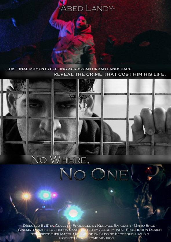 No Where No One Poster #1