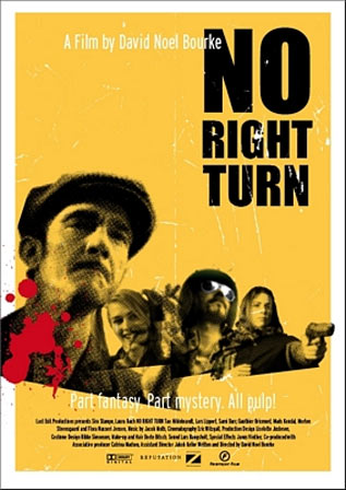 No Right Turn Poster #2