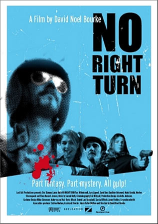 No Right Turn Poster #1