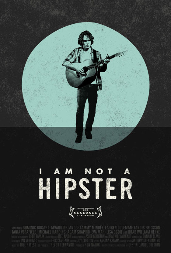 I Am Not a Hipster Poster #1
