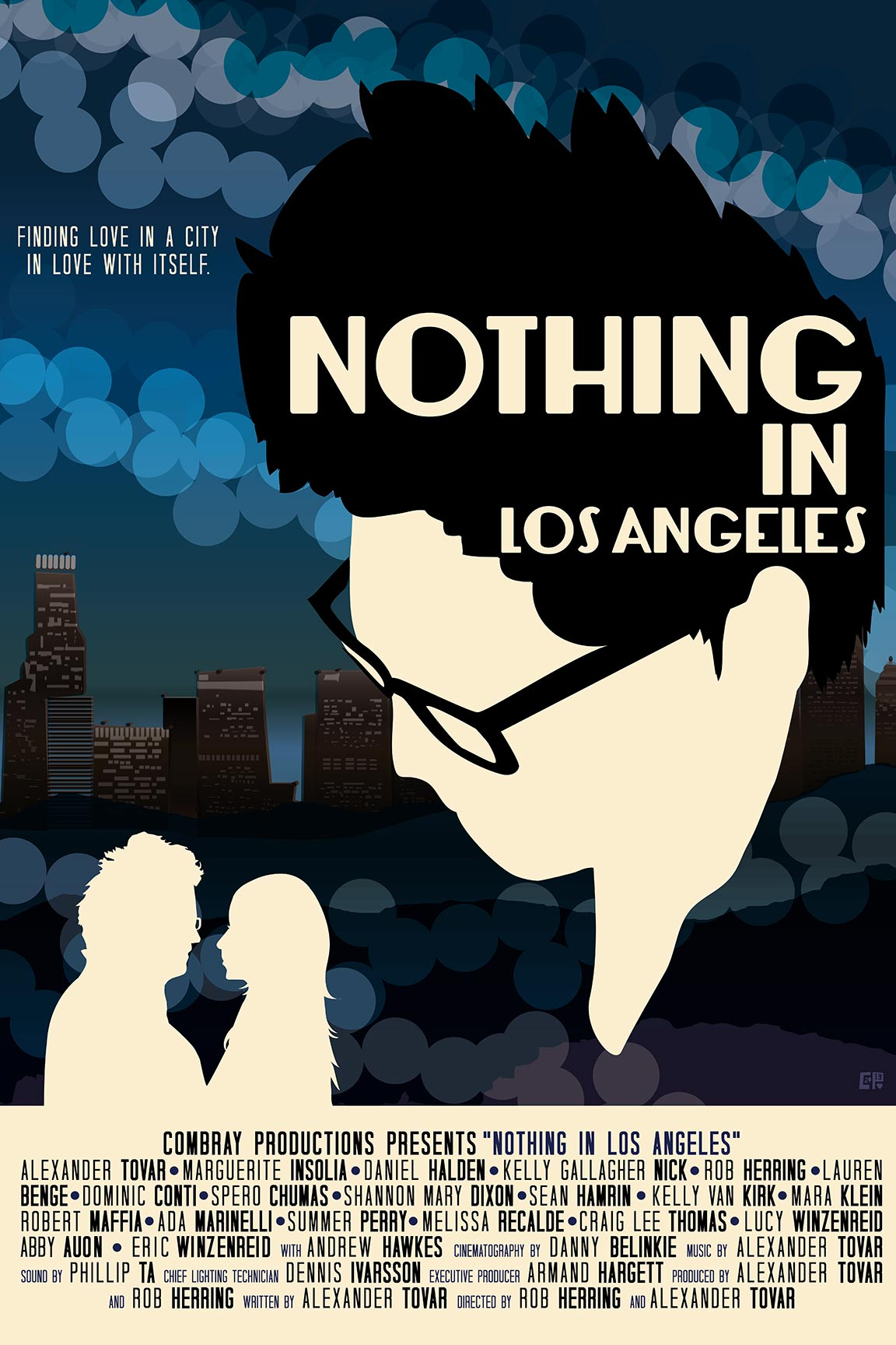 Nothing in Los Angeles Poster #1